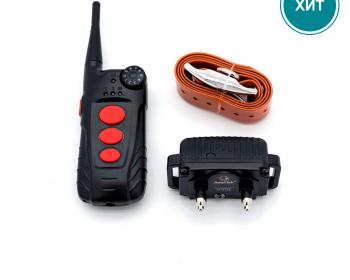 Электронный ошейник для дрессировки собак + антилай Aetertek AT-918C-1 (до 65 см)